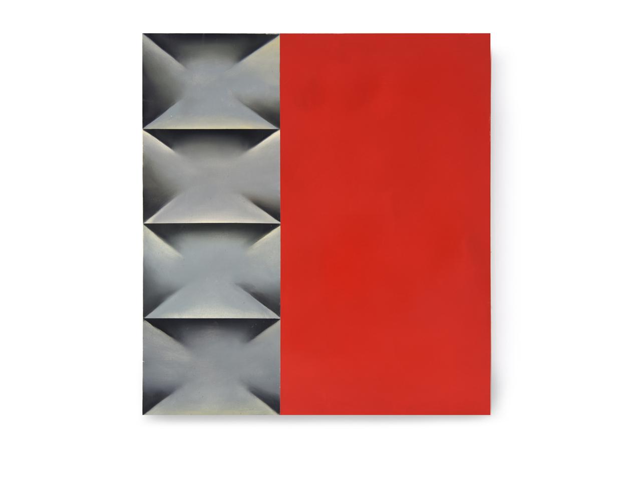 Metal(red)-2021-65x60cm